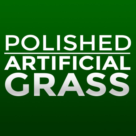 Polished Artificial Grass Logo