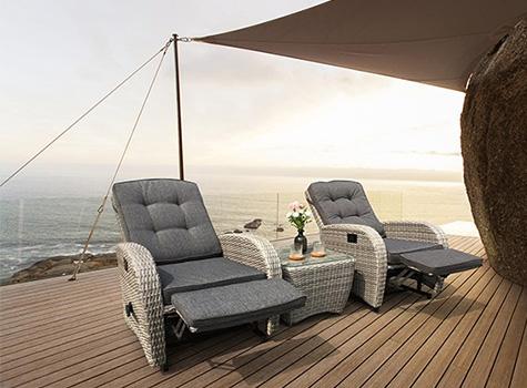 Bellevue two seater garden furniture set