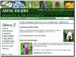 http://www.arneherbs.co.uk/ website