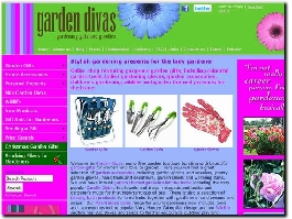 http://www.gardendivas.co.uk/ website