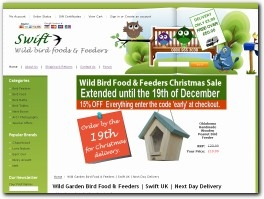 http://www.swiftwildbirdfood.co.uk website