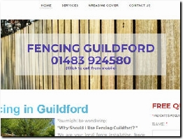 https://www.fencinginguildford.co.uk website