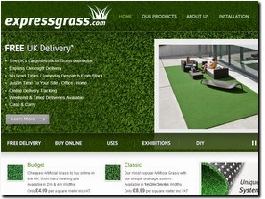 http://www.expressgrass.com website