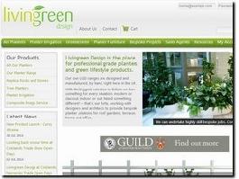 http://www.livingreendesign.com website