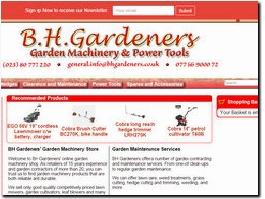 http://www.bhgardeners.co.uk website