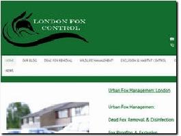 http://www.urbanfoxcontrollondon.co.uk website