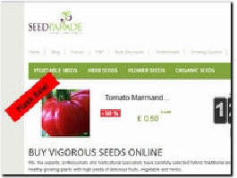https://www.seedparade.co.uk/ website