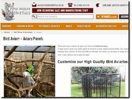 http://www.weld-mesh.com/animal-cages/aviary website