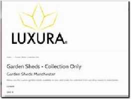 https://www.luxurauk.com/collections/garden-sheds-manchester website