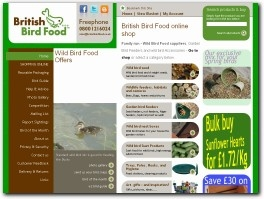 http://www.britishbirdfood.co.uk/ website