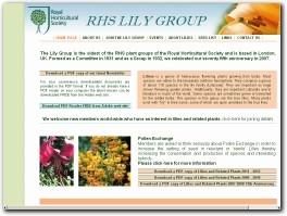 http://www.rhslilygroup.org/ website