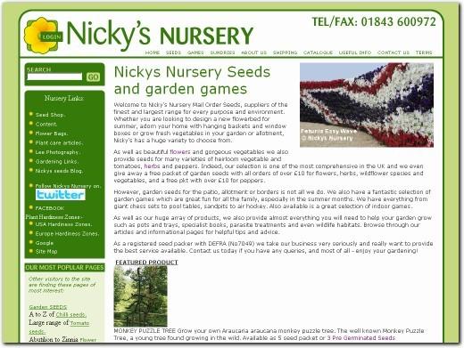 http://www.nickys-nursery.co.uk/ website