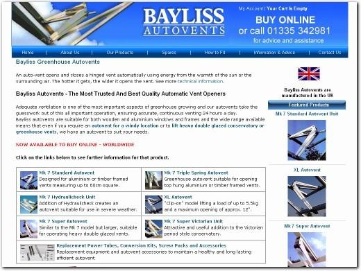 http://www.baylissautovents.co.uk/ website