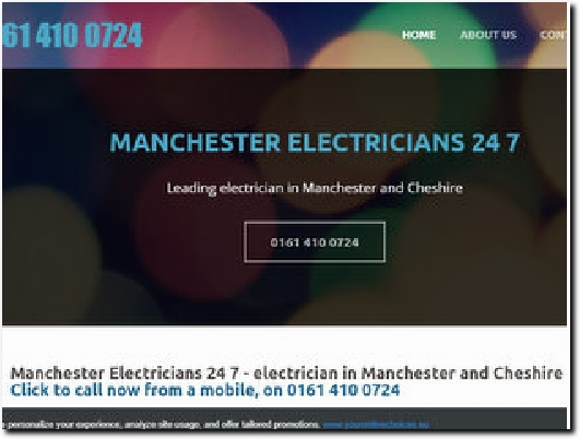 https://www.manchesterelectricians247.co.uk/ website