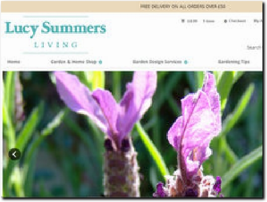 http://www.lucysummersliving.com website