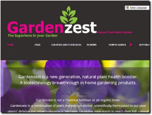 http://www.gardenzest.co.uk website
