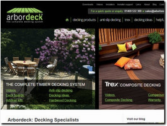 http://www.arbordeck.co.uk/ website