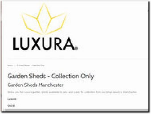 https://www.luxurauk.com/collections/garden-sheds-manchester website