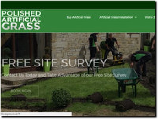 http://polishedartificialgrass.co.uk website