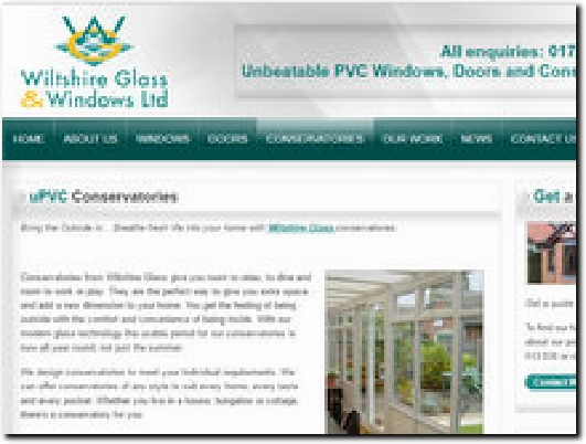 http://www.wiltshireglass.co.uk/conservatories website