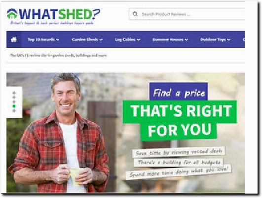 http://www.whatshed.co.uk website