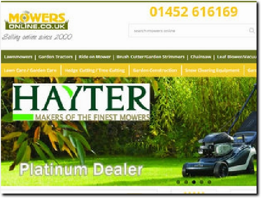 https://www.mowers-online.co.uk/ website