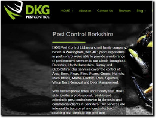http://www.dkgpestcontrol.co.uk website