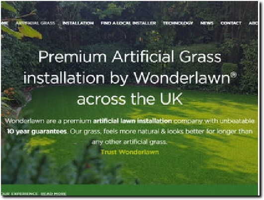 https://wonderlawn.com website